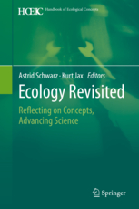 SCHWARZ, A. & K. JAX (eds.): Ecology Revisited: Reflecting on Concepts, Advancing Science. Dordrecht, Springer: 444 p.; 2011