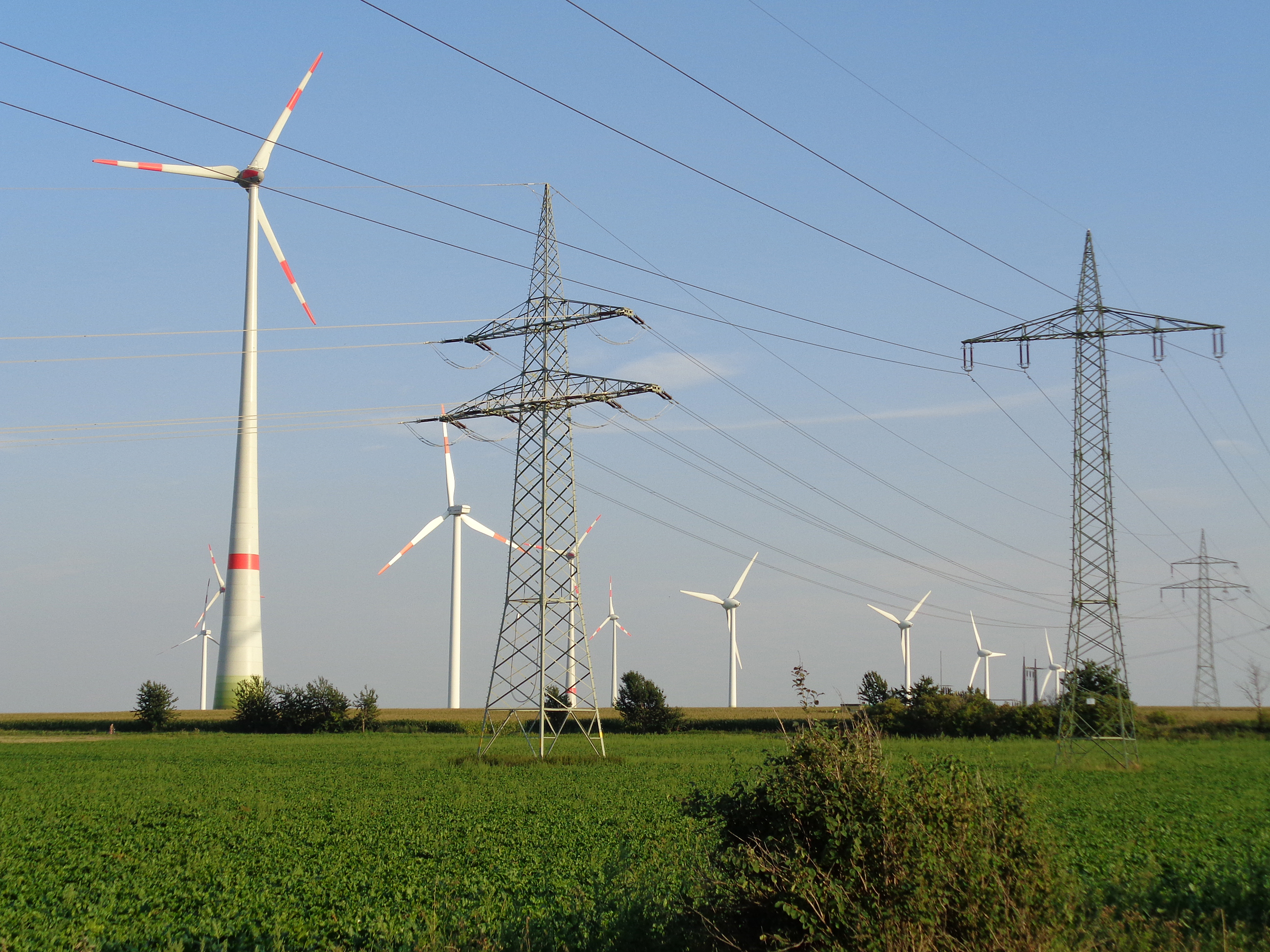 Wind turbines and transmission
