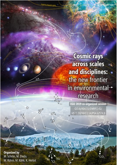 Cosmic rays across scales and disciplines: the new frontier in environmental research