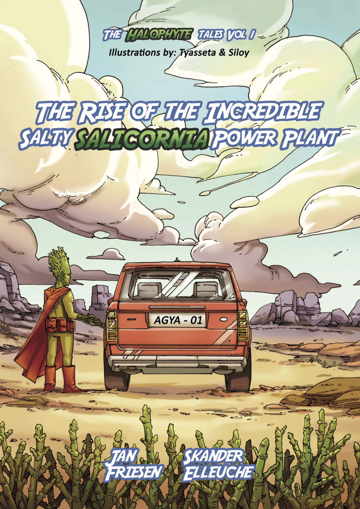 Wissenschaftscomic - The Rise Of The Incredible Salty Salicornia Power Plant