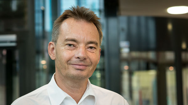 Prof. Dr. Matthias Liess, Head of the Department of System Ecotoxicology. Photo: Sebastian Wiedling/UFZ