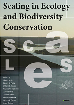 Henle K, Potts S, Kunin W, Matsinos Y, Simila J, Pantis J, Grobelnik V, Penev L, Settele J (2014) Scaling in Ecology and Biodiversity Conservation. Advanced Books: e1169. doi: 10.3897/ab.e1169.
