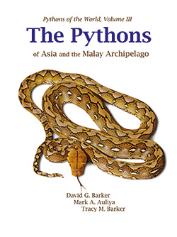 arker DG, Auliya M & Barker TM (2018) Pythons of the World, Volume III: The Pythons of Asia and the Malay Archipelago. VPI Library, Boerne, Texas. 371 pp.