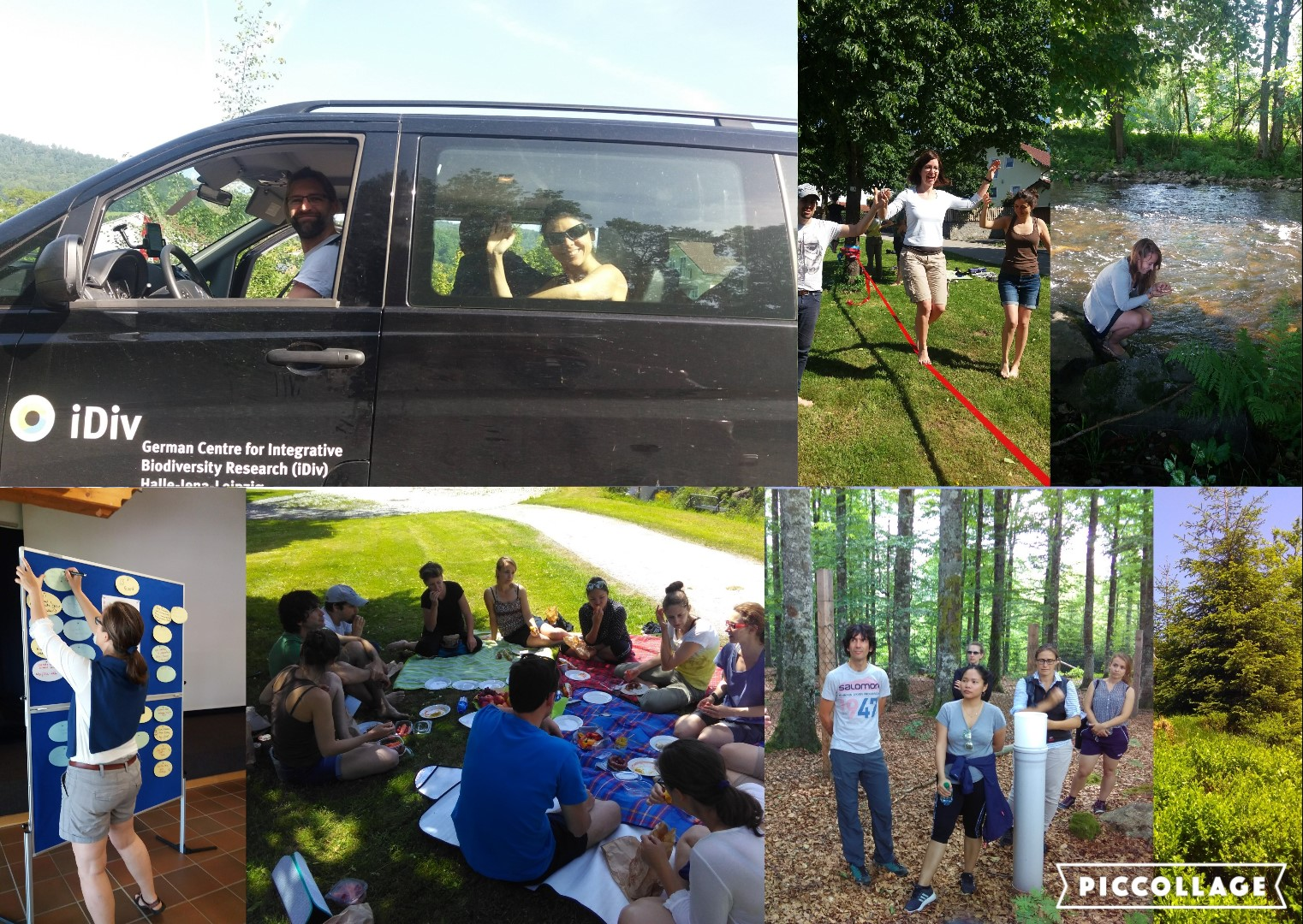 Lab Retreat Collage
