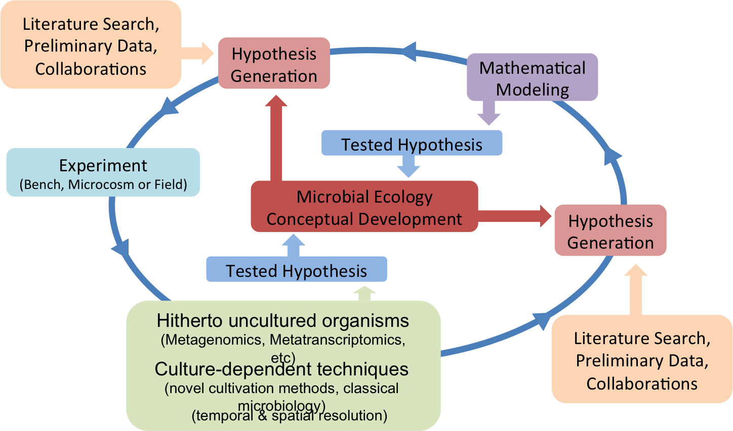Community Systems Biology approach addressing conceptual development in Microbial Ecology.