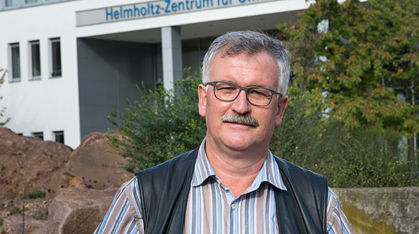 Prof. Dr. Josef Settele, Head of the Department of Conservation Biology. Photo: Sebastian Wiedling/UFZ