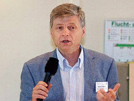 Alexey Voinov, Präsident der iEMSs (international Environmental Modelling & Software Society)