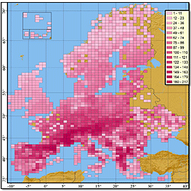 Distribution Atlas of Butterflies in Europe