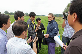 German-Chinese Workshop on butterflies - Excursion