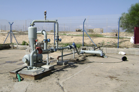 Groundwater well in Khan Younis area