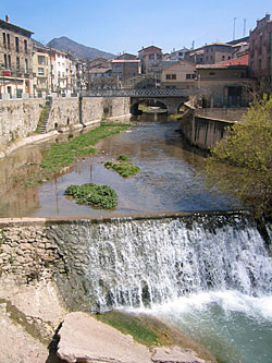 The River Llobregat in north-east Spain