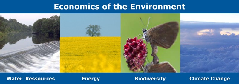 economics of the environment - water ressources, energy, biodiversity, climate change