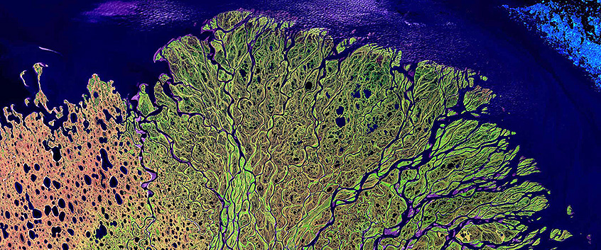 Department of System Ecotoxicology. Lena River Delta. Image Credit: NASA