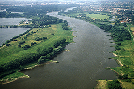 Elbe River. Photo: Mathias Scholz, UFZ