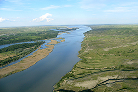 Missouri River. Photo: A. Semmler