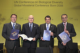 "Presentation of the TEEB-Report in Bonn, Germany: ""TEEB – The Economics of Ecosystems and Biodiversity"""