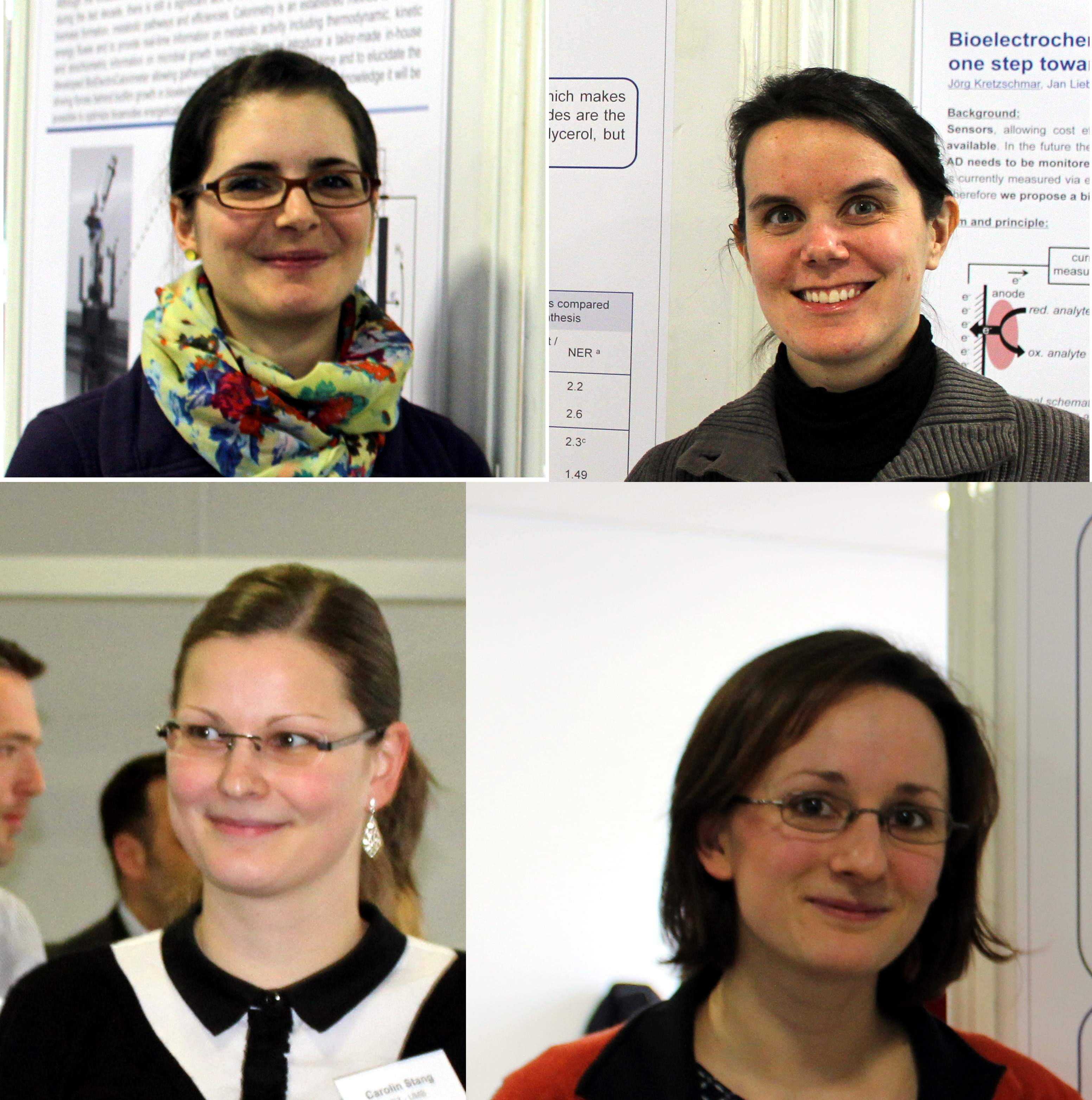 further poster presenters