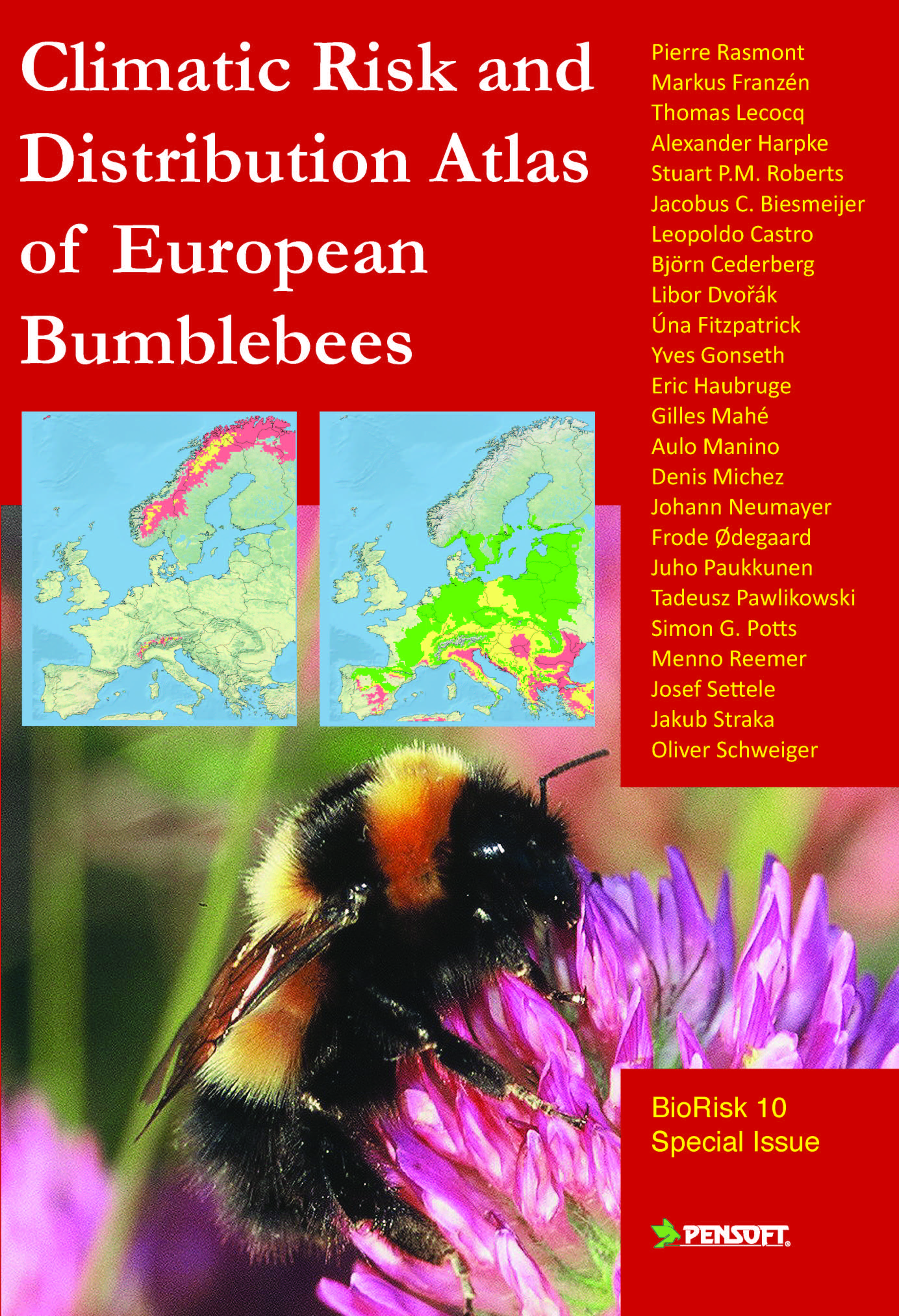 Climatic Risk and distribution Atlas of European bumblebees