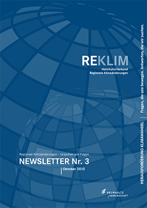 REKLIM Newsletter 2013