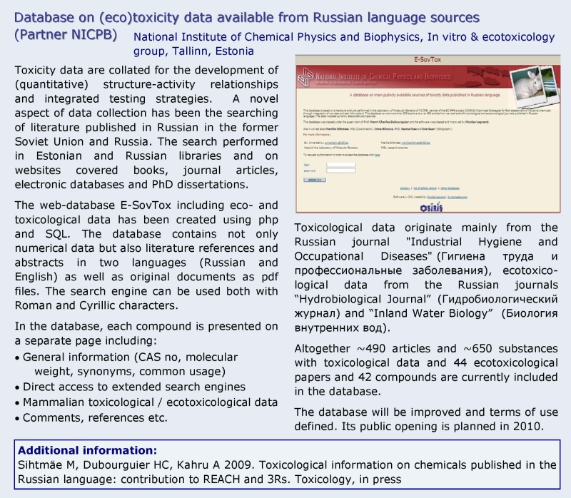 Russian language NICPB