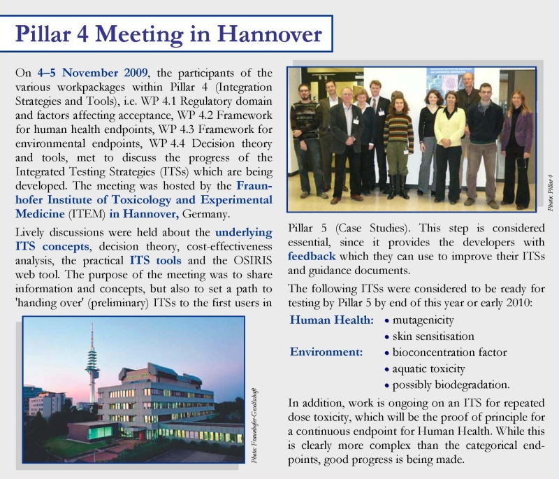 Pillar 4 Meeting