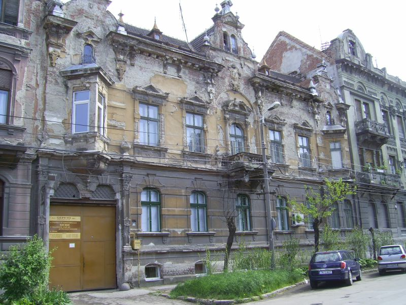 Timisoara: inner-city historic building stock