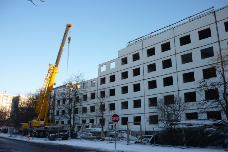 Demolition of housing stock in Halle