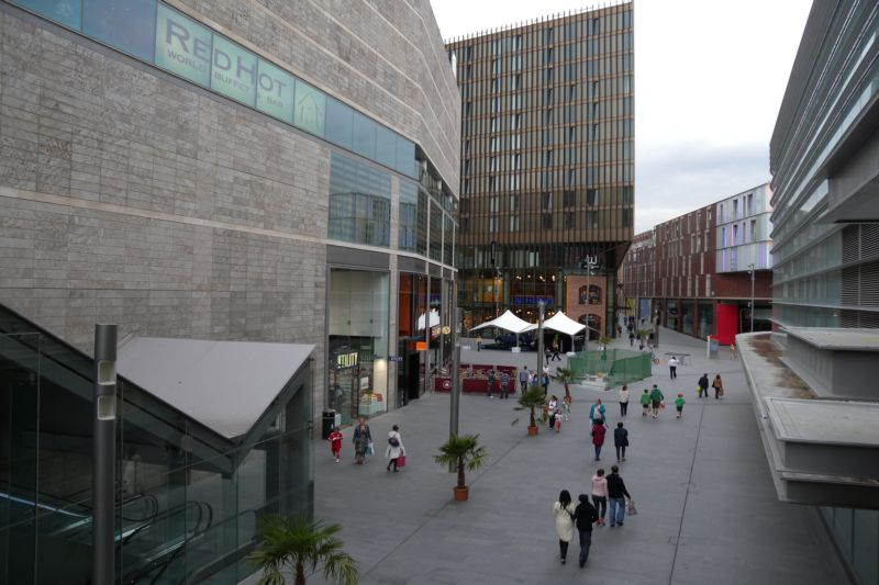 Shopping centre Liverpool