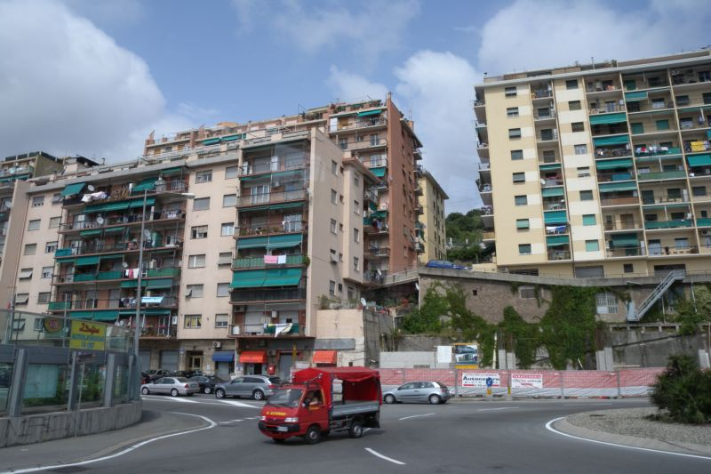 After-World-War-Two housing in Genoa