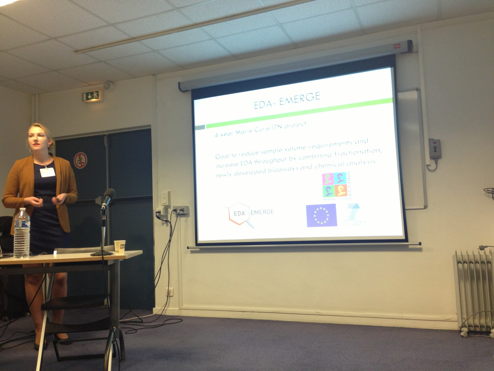 Petra Spirhanzlova at the 6th EFOR SEMINAR