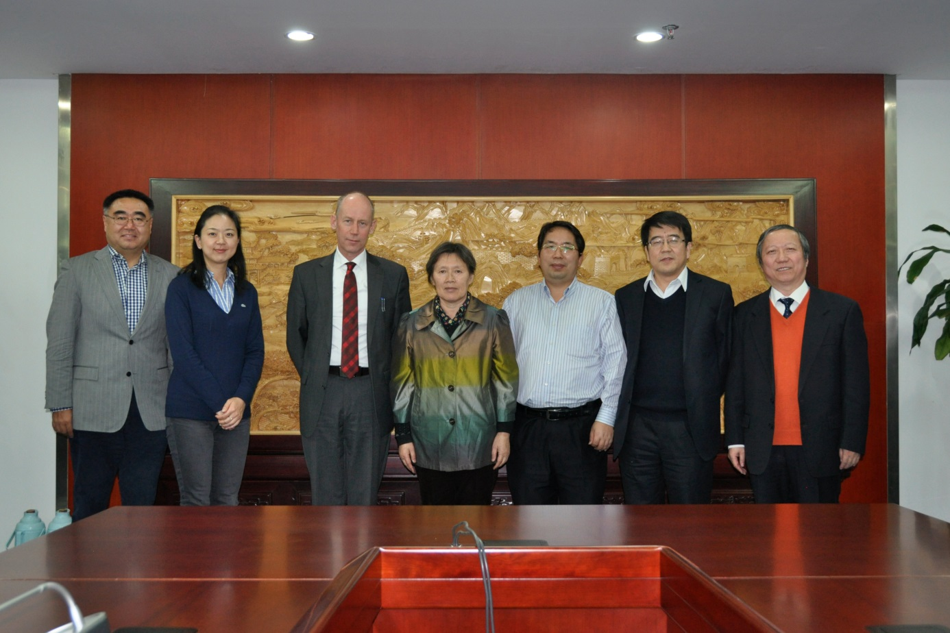 visiting Chinese Institute of Water resources and Hydropower – IWHR on 25, Nov, 2014