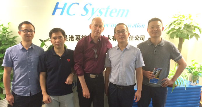 Prof.Olaf Kolditz visited HC System in Shanghai