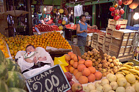Fruits on a market